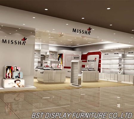 High Quality Mdf Cosmetic Store Furniture Cosmetic Store Products Bst Display Furniture Co